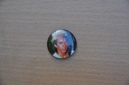 REF Y4  : Badge Ancien Epok 1980 Punk Pop Hard Rock Limahl Kajagoogoo - Musique