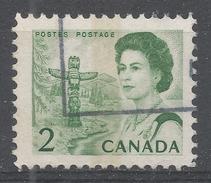 Canada 1967, Scott #455p Totem Pole (Pacific Area) (U) SF PVA WCB - 1952-.... Règne D'Elizabeth II