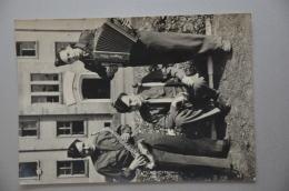 REF 261  : CPSM DEDICACE AUTOGRAPHE  Jean Labourel Emile Pezet Virtuose Acordéoniste Militaria Soldat Quille Carte Photo - Autographes