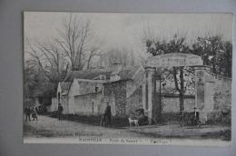 REF 261  : CPA MAINVILLE Foret De Sénart L'Ermitage - France