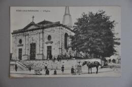 REF 261  : CPA 51 FERE CHAMPENOISE L'Eglise - Fère-Champenoise