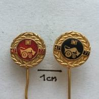 Badge (Pin) ZN002239 - Tractor (Traktor) Industrija Masina I Traktora IMT - Transportation