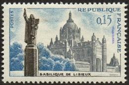 France N° 1268 ** Basilique De Lisieux - France