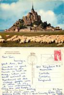 Le Mont Saint-Michel, Manche, France Postcard Posted 1978 Stamp - Le Mont Saint Michel