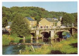 Belgique-PALISEUL---LESSE (Maissin)-2000-Vieux Pont Sur La Lesse (animée), Cpm N° 7  éd Nels--Belle Carte