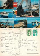 Carteret, Manche, France Postcard Posted 1980 Stamp - Carteret