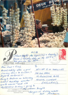 Garlic Seller, Provence, France Postcard Posted 1982 Stamp - Unclassified