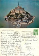 Le Mont Saint-Michel, Manche, France Postcard Posted 1979 Stamp - Le Mont Saint Michel