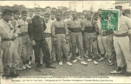 RENNES - 40è Fête De Gymnastique...31 Mai 1er Juin 1914 - Délégation De Trirailleurs Sénégalais - Rennes