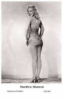 MARILYN MONROE - Film Star Pin Up PHOTO POSTCARD- Publisher Swiftsure 2000 (201/384) - Postcards