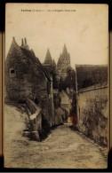 "CPA 37 LOCHES  LA COLLEGIALE SAINT OUR 1925 EDIT ""LES ALLIES REUNIS"" PARIS - Loches"