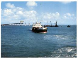 (ORL 225) France - Oléron Bridge Under Construction + Ferry - Traghetti