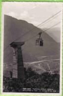FUNIVIA AEREA NUOVA BOLZANO S. GENESIO VIAGGIATA 1942 - Altre Città