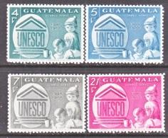 GUATEMALA   C 386-9   *   UNESCO - Guatemala