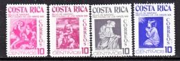 COSTA  RICA  RA 61-4    **   ART  PAINTINGS - Costa Rica