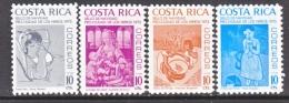 COSTA  RICA  RA 65-8    **   ART  PAINTINGS - Costa Rica