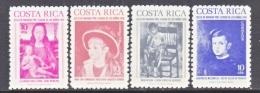 COSTA  RICA  RA 69-72    **   ART  PAINTINGS - Costa Rica