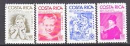 COSTA  RICA  RA 73-6    **   ART  PAINTINGS - Costa Rica
