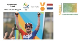 Spain 2016 - Olympic Games Rio 2016 - Gold Medal - Cycling Female Pays Bas Cover - Juegos Olímpicos
