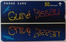 GUINEA-BISSAU - Fauna Expo 98 - Guine Bissau - Guine Telecom - 803L - 50 Impulsos - Mint - Guinea-Bissau