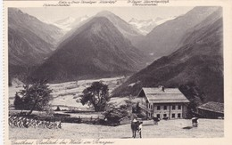 Gasthaus Rechteck Rechtegg Bei Wald Im Pinzgau (3839) - Austria