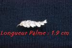 Palme Or Pour Médailles (Longueur : 1.9 Cm ) - France