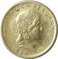 20 CENTAVOS 1964   PEROU - Peru