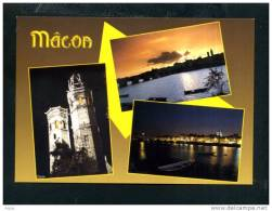 71  MACON ... Carte Multi Vues La Saône ... - Macon