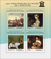 GUINEA 2014 - Donkey, Hermitage - YT 7306-9; CV = 25 €