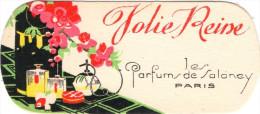 Carte Parfumée Marque SALANCY Jolie Reine - Vintage (until 1960)
