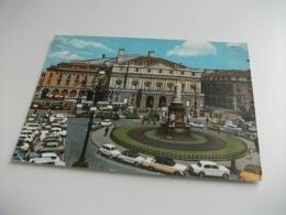 AUTO CAR TAXI  TRAM PIAZZA DELLA SCALA MILANO - Taxi & Carrozzelle