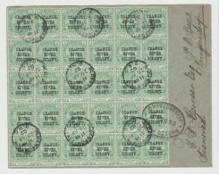 SA-001  ORANJE-FREISTAAT -/ Einheit Von 30 Marken 1902, Zensiert Johannesburg Und Krugersdorp - África Del Sur (...-1961)
