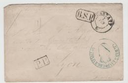 Bad279 / Krieg 1870-71, Correspondence Des Prisoners, Portofrei Lt. Franz.-preuss. Abkommen Vom August 1870 - Baden