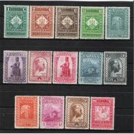 ES620STV-LFT**620 España Spain Espagne.MONASTERIO DE MONTSERRAT .1931.(Ed 620/9*)con Charnela .LUJO - 1931-Hoy: 2ª República - ... Juan Carlos I