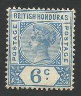 British Honduras, 6 C. 1891, Sc # 42, Mi # 35, MH - British Honduras (...-1970)