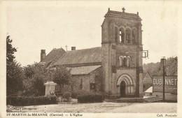 Saint-Martin-la-Méanne (19.Corrèze) L'Eglise - Marennes