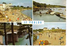29 LE POULDU En 1970 Plage De Kérou Port Pont St Maurice Sur La Laïta VOIR ZOOM Filet De Volley - Le Pouldu
