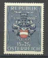 AUSTRIA - 1949 War Prisoners Relief 1s+25g MH *   Yv 775  Sc B266 - 1945-.... 2nd Republic