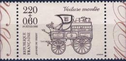 2526  VOITURE MONTEE   NEUF ** ANNEE 1988 Bord De Feuille - Frankreich