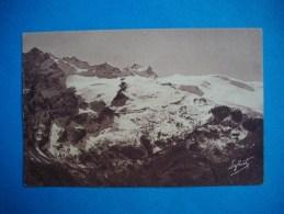 LA  GRAVE  -  05  -  Hôtel De La Meije  -  Glacier De La Girose Et Refuge Chancel  -  Hautes Alpes - France