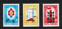 1969 - 25 Anniv. De La Liberation  Yv No 2486/2488 Et Mi No 2786/2788 MNH - 1948-.... Republiken