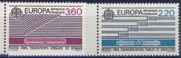 2531 Et 2532 EUROPA   NEUF ** ANNEE 1988 Bord De Feuille - Frankreich
