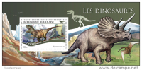 TOGO 2015 ** S/S Dinosaurs Dinosaurier Dinosaures A1518 - Prehistorics
