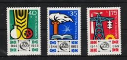 1969 - Expo De Realisation Nationale YV No 2477/2479 Et Mi No 2783/2785 MNH - 1948-.... Republiken