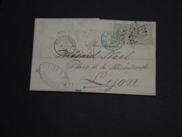 PAYS - BAS - Lettre La France En 1879 , Cachet D'entrée Sur Timbres - A Voir - L 1040