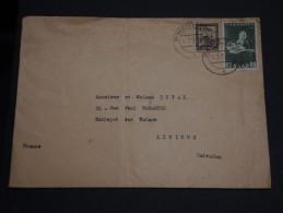 SARRE - Enveloppe Pour La France En 1952 - A Voir - L 1044 - 1947-56 Occupation Alliée