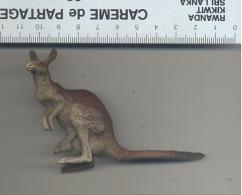 Figurine En Composition ELASTOLIN, LINEOL, ... Kangourou - Zoo, Animal,... - Figurines