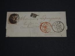 BELGIQUE - Lettre De Gand Pour La France En 1858 - A Voir - L 1051