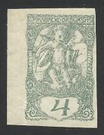 Yugoslavia, 4 F. 1919, Sc # 3LP2, Mi # 114I, MNH - Zeitungsmarken