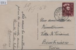 1950 PJ 1949 Niklaus Wengi - Cachet: Courroux (Berne) Ansichtskarte Guy Paris - Pro Juventute